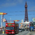 hen party night in Blackpool