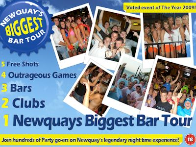 Newquay Bar Tour